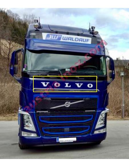 Volvo Buchstaben Applikation