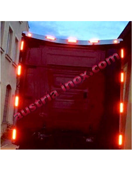 Dach Spoiler Light Applikation Actros MP4