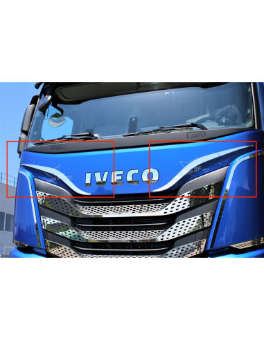 Frontgrill-Applikation IVECO S-WAY