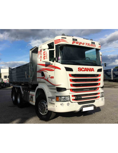 Front Tube Zentral Scania