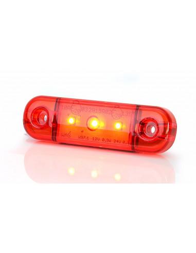 LED Umrissleuchte 3 Punkt rot