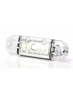LED Umrissleuchte 3 Punkt weiß