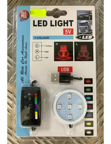 Poppy Beleuchtung mit USB Stecker