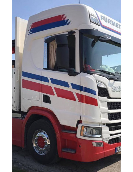 B- Säulen Applikation Scania NG