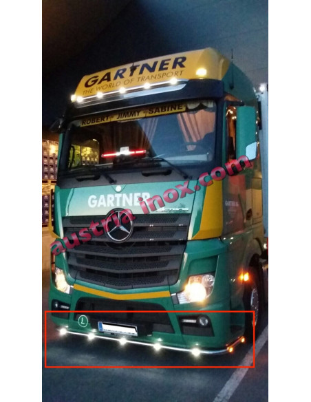 Front Tube Mercedes Actros MP4
