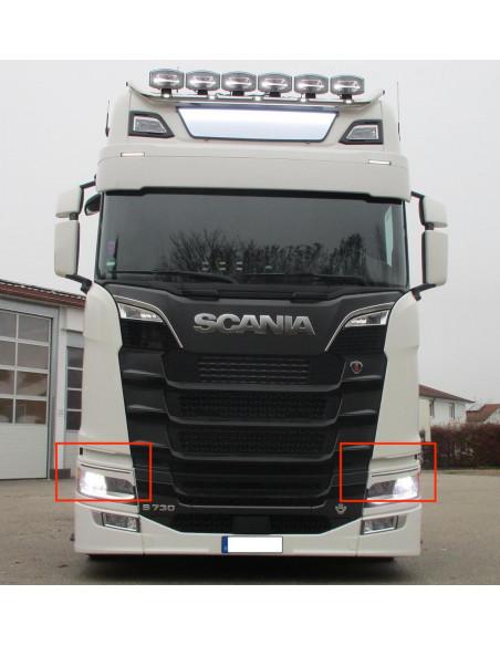 Scheinwerfer blenden Scania NG