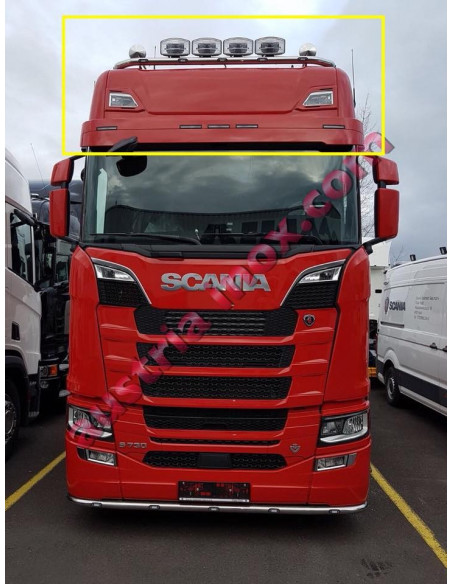 Light Tube Up Scania Next Gen